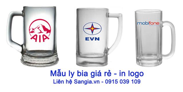 Mẫu Quà tặng in logo giá rẻ của SanGia