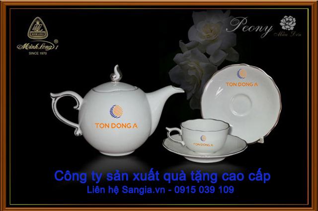 Mẫu quà tặng cao cấp thương hiệu Gốm Sứ Minh Long