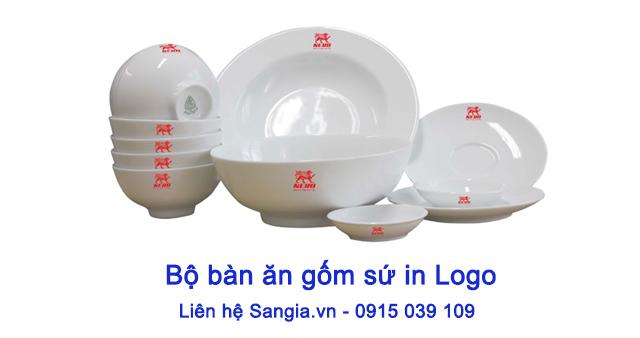 Bộ Tô Chén Dĩa Minh Long làm Quà tặng quảng cáo HCM