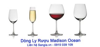 Ly rượu vang Madison Ocean