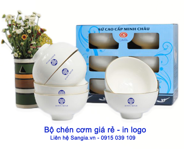 Bộ quà tặng giá rẻ của Công ty SanGia VN