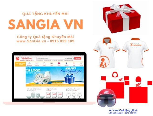 Quà tặng khuyến mại giá rẻ tại SanGia Vn