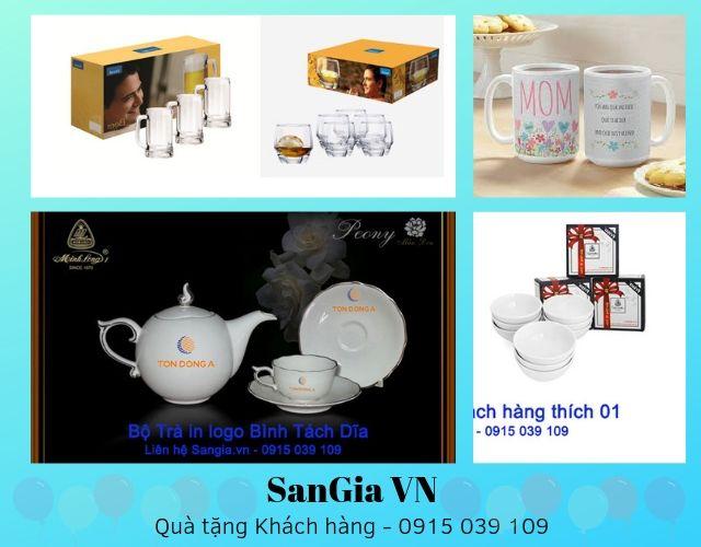 Quà tặng khách hàng thương hiệu SanGia VN