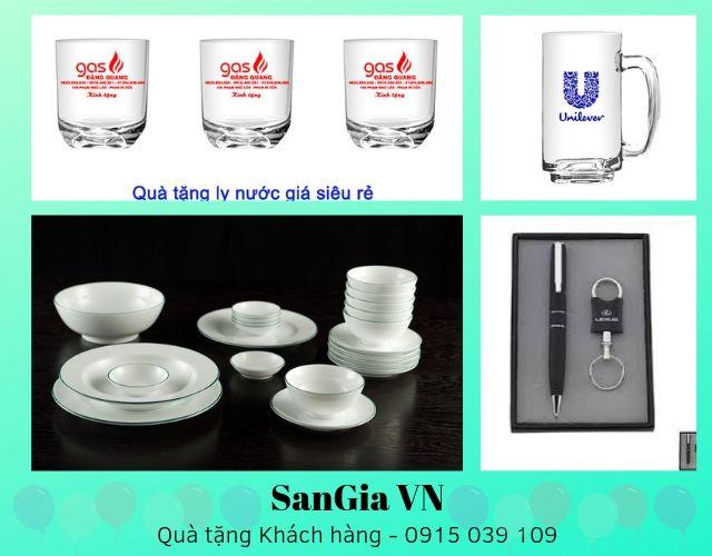 Quà tặng khách hàng siêu chất lượng tại SanGia