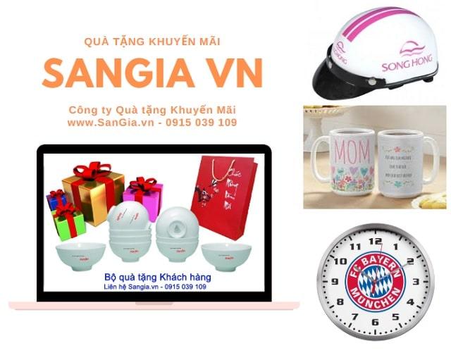 Đồng hồ treo tường quà tặng tại SanGia VN