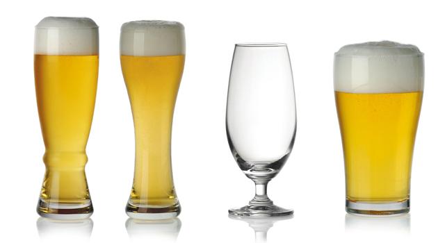 Hình ảnh các loại ly uống bia tươi cao cấp