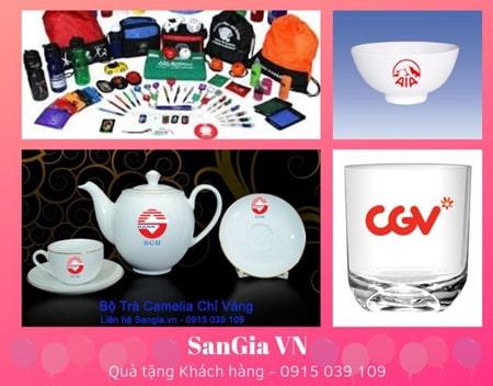 Quà tặng khách hàng tại SanGia VN