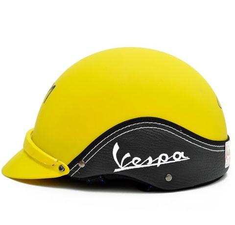 mẫu nón vespa cao cấp in logo