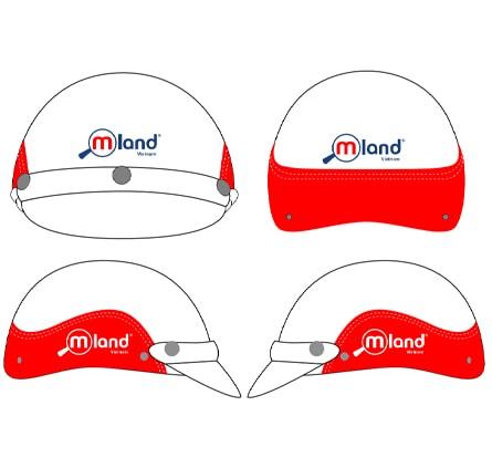 Market sản xuất Mũ bảo hiểm quảng cáo khuyến mãi