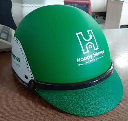 Mẫu nón bảo hiểm quà tặng quảng cáo thông dụng nhất