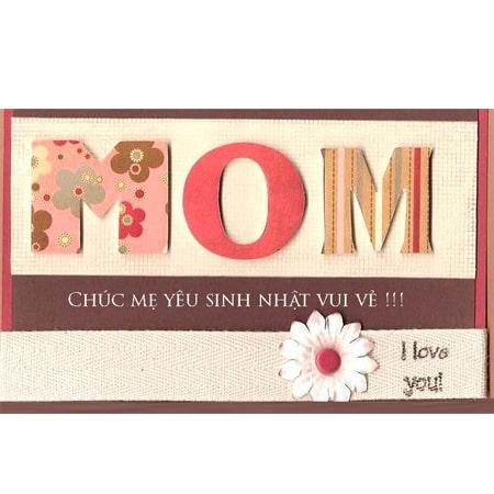 thiệp chúc mừng sinh nhật đẹp tặng mẹ