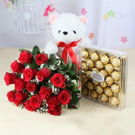Hoa tươi tặng bạn gái
