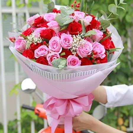 Bó hoa mừng sinh nhật