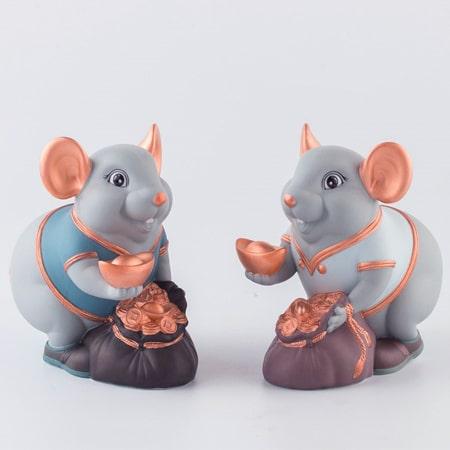Tượng chuột phong thuỷ làm quà tặng