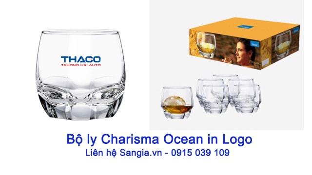 Bộ Ly Charisma Ocean In logo