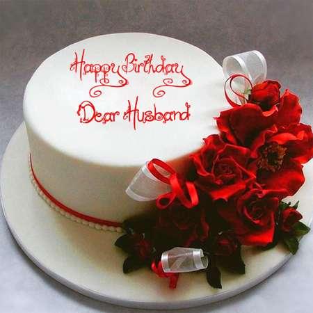 Bánh kem chúc mừng sinh nhật chồng