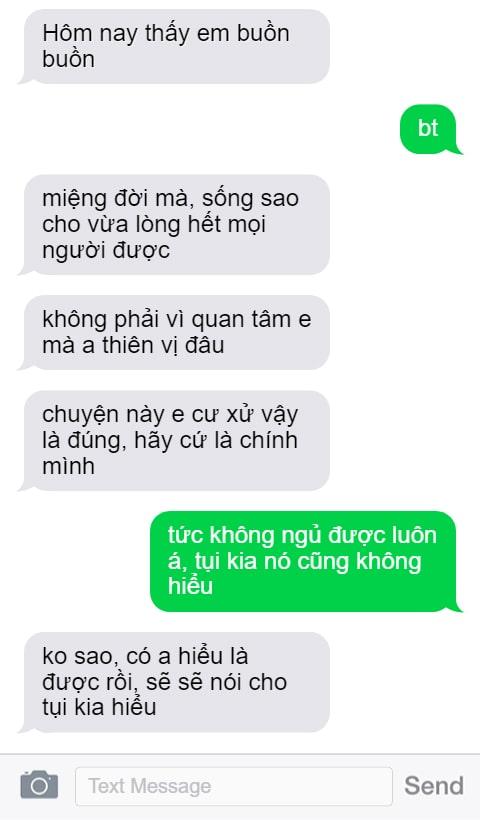 Những điều con gái muốn nghe khi nhắn tin
