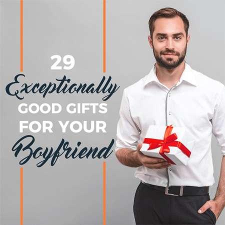 Tặng quà cho bạn trai