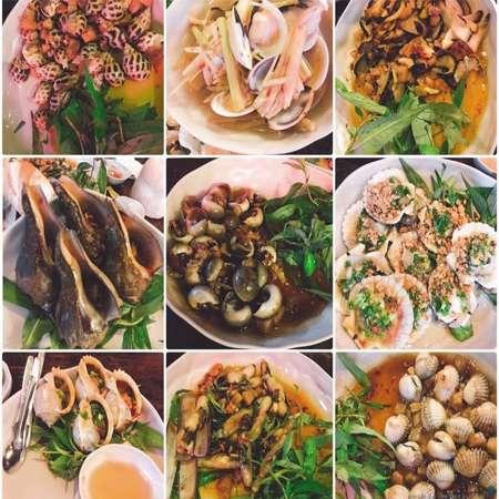 Các món ốc ngon tại Sài Gòn