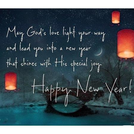 Lời chúc năm mới an lành bằng tiếng anh