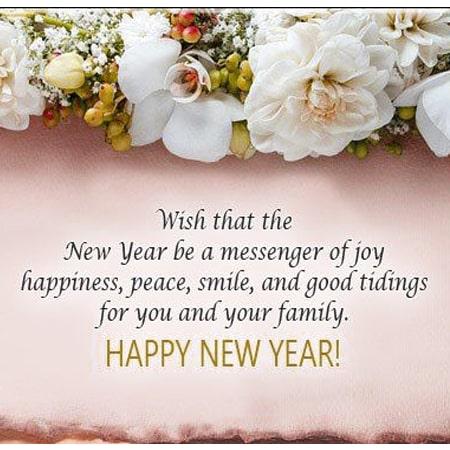câu chúc trong tiếng anh về năm mới