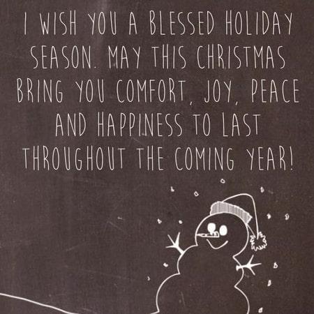 Chúc giáng Sinh hay bằng tiếng Anh