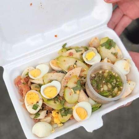 Tré trộn trứng cút