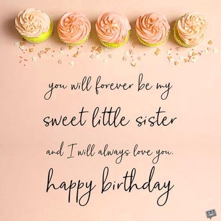 Lời chúc sinh nhật em gái 15