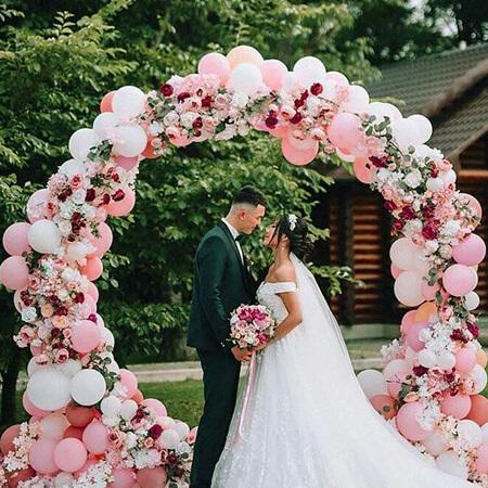 Bong bóng trang trí cho đám cưới