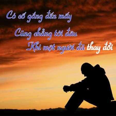 Stt buồn khi yêu