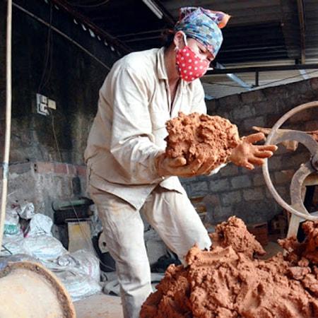 Quy trình sản xuất gốm sứ Bát Tràng