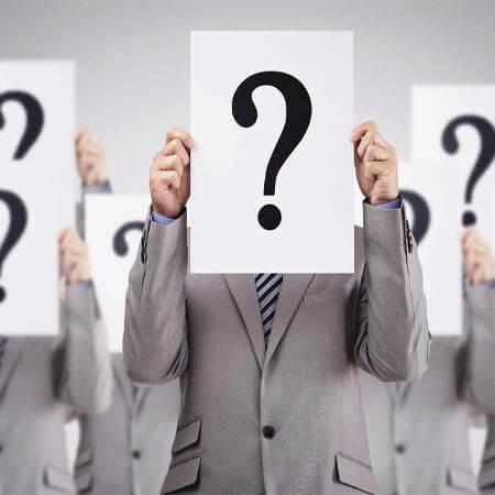 Đưa các câu hỏi cho khách hàng