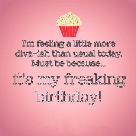 Tự chúc sinh nhật cho bản thân