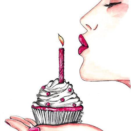 Lời chúc mừng sinh nhật cho chính mình