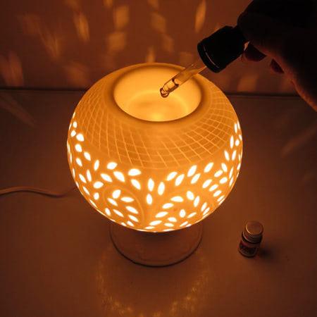 cách sử dụng đèn xông tinh dầu bằng điện