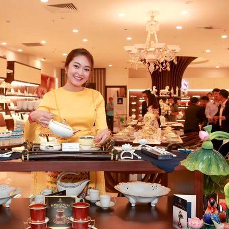 phân phối sản phẩm gốm sứ Minh Long