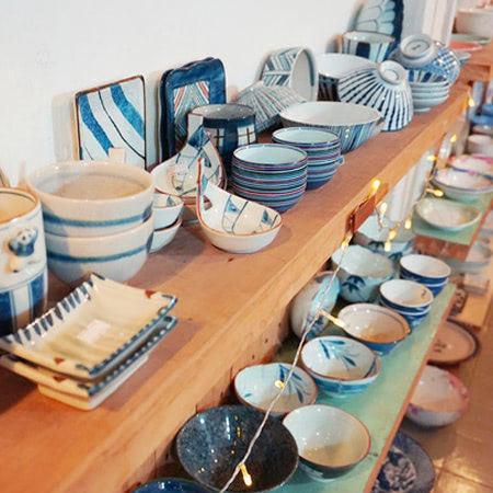 Sản phẩm của tiệm gốm Trước Nhà