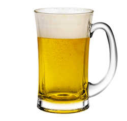 LỐ LY LUGANO BEER MUG 330ml OCEAN