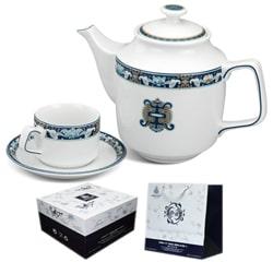 Bộ tách trà Minh Long Phúc Lộc Thọ