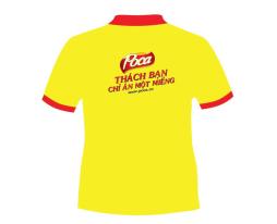 In Logo len áo thun