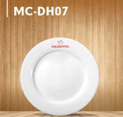 Dĩa sứ trắng Minh Châu