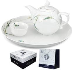 Bộ trà Minh Long mẫu đơn Thanh trúc